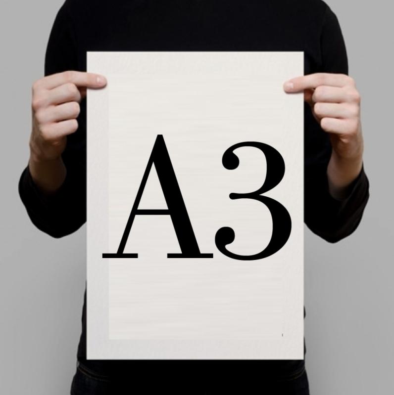 Impressão Digital A3 Iperó - Impressão Digital para Fotos