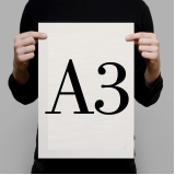 impressão digital a3 Itu