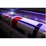 impressão digital em grandes formatos Além Linha